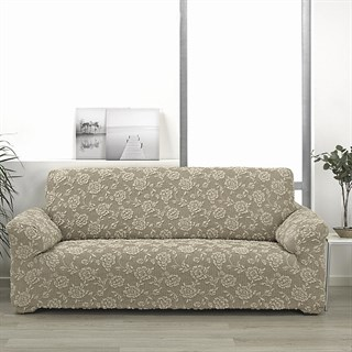 СЕВИЛЬЯ БЕЖ Чехол на 3-х местный диван от 170 до 230 см