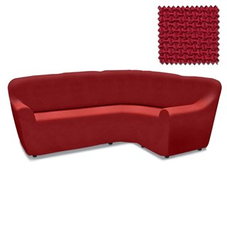 АЛЯСКА РОХО Чехол на классический угловой диван от 270 до 480 см универсальный