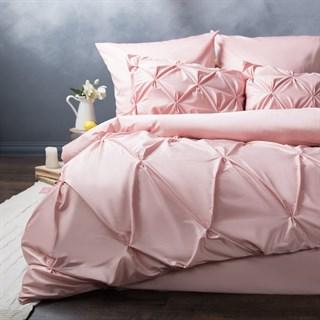 Постельное белье Pasionaria Марсель евро розовое