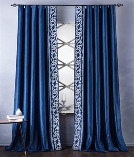 Комплект штор Pasionaria Валери синий