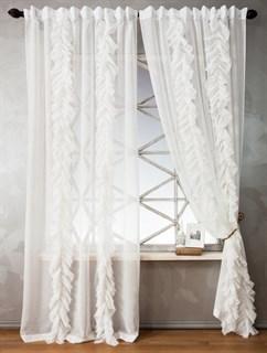 Комплект штор Pasionaria Иви белый (шир. 140)