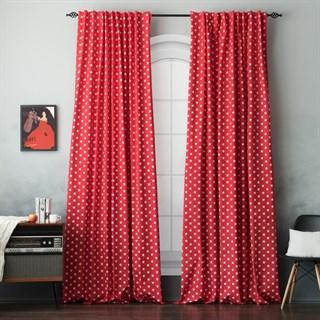 Комплект штор Pasionaria Сири красный
