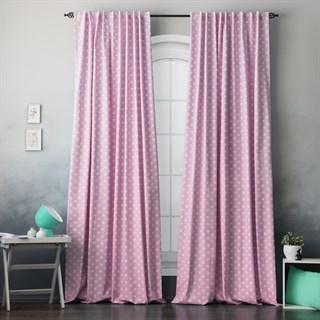 Комплект штор Pasionaria Сири розовый