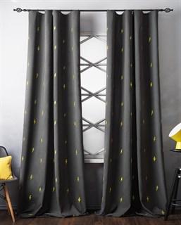 Комплект штор Pasionaria Флэш темно-серый