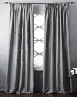Комплект штор Pasionaria Флэш серый