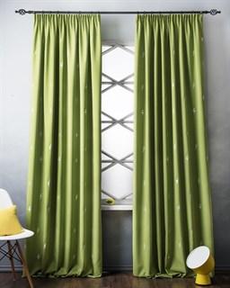 Комплект штор Pasionaria Флэш зеленый