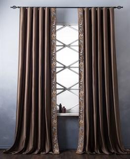 Комплект штор Pasionaria Шарлиз коричневый