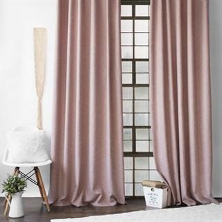 Комплект штор Pasionaria Конни розовый (шир. 140) с подхватами