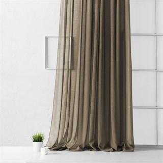 Портьера Pasionaria Виви коричневая (шир. 500)