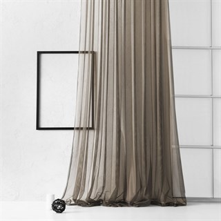 Тюль Pasionaria Грик коричневый (шир. 300)