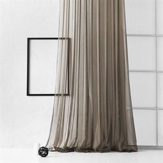Тюль Pasionaria Грик коричневый (шир. 500)
