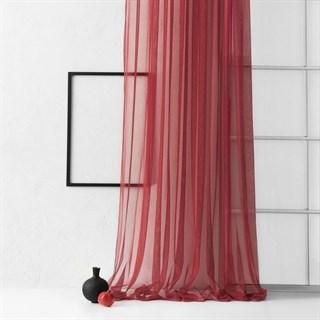 Тюль Pasionaria Грик бордовый (шир. 500)