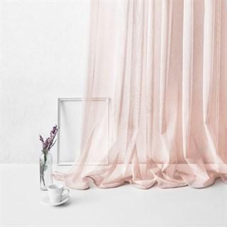 Тюль Pasionaria Лайнс розовый (шир. 300)