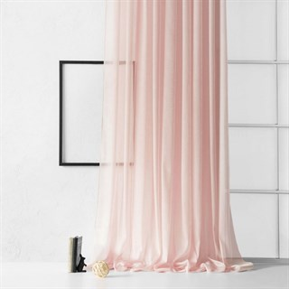 Тюль Pasionaria Лоунли розовый (шир. 500)