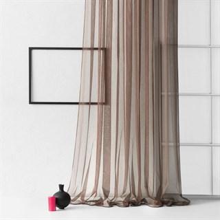 Тюль Pasionaria Стори коричневый (шир. 500)
