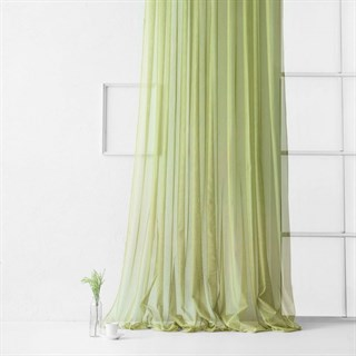 Тюль Pasionaria Стори зеленый (шир. 500)
