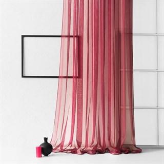 Тюль Pasionaria Стори бордовый (шир. 500)