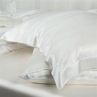 Шелковые наволочки Luxe Dream Айвори Oxford 50х70 (2 шт.)
