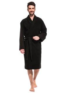 Deep Black Халат мужской XL (50-52) черный