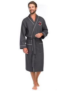 Supreme Халат мужской XXL (54-56) серый