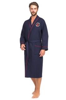 Supreme Халат мужской XL (50-52) синий