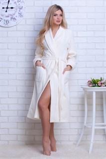 Light Халат женский XL (50-52) кремовый
