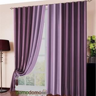 Готовые шторы Блэкаут Амалия фиолетово-сиреневые