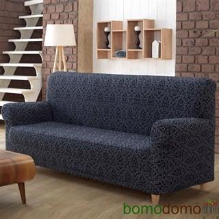 MILANO ANTHRACITE Чехол на 2-х местный диван от 130 до 170 см темно-серый
