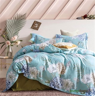 Постельное белье Sharmes Blue-Fraize 1,5-спальное