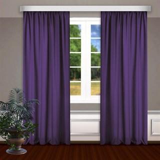 Готовые шторы Габриэль фиолетовые