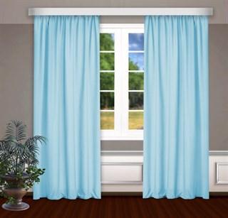 Готовые шторы Габриэль голубые
