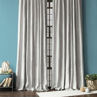 Готовые шторы Pasionaria Джим с вышивкой серые