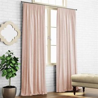 Комплект штор Pasionaria Ким (шир.200) бледно-розовый